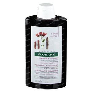 Klorane Versterkende en Revitaliserende Shampoo Kinine & Vitamines B 400 ml