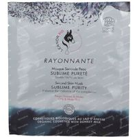 LeanorBio Rayonnante Second Skin Mask Sublime Purity with Donkey Milk 1 st