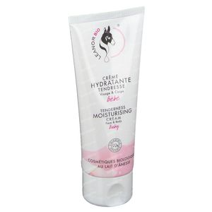 LeanorBio Baby Tenderness Moisturizing Cream with Donkey Milk Face & Body 75 ml