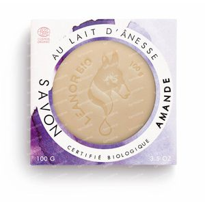 LeanorBio Soap Almond with Donkey Milk 100 g