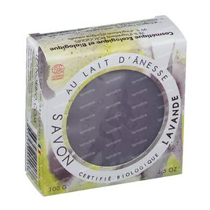 LeanorBio Soap Lavender with Donkey Milk 100 g