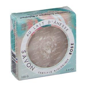 LeanorBio Soap Rose with Donkey Milk 100 g