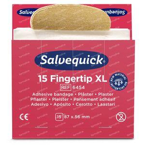 Salvequick Nachfüllung Fingerspitze 64540 6 st