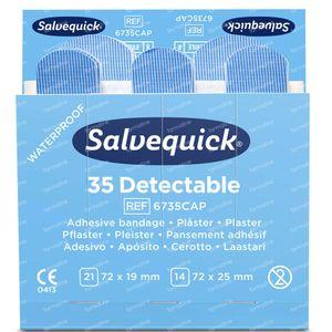 Salvequick Nachfüllsensor Blau 67350 6 st