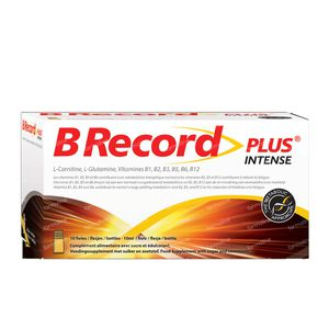 BRecord Plus Intense 10x10 ml flacons