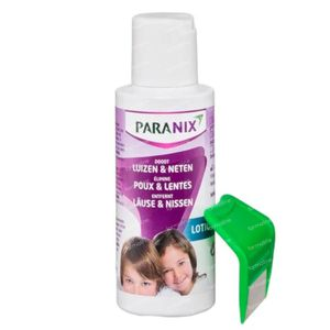 Paranix Behandelingslotion tegen Hoofdluizen en Neten + Kam 1 set