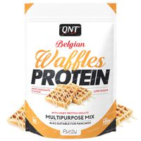 QNT Belgian Waffles Protein White Chocolate 480 g