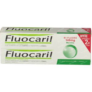 Fluocaril Toothpaste Bi-Fluoré 145 Mint Duo 2x75 ml