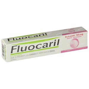 Fluocaril Toothpaste Bi-Fluoré 145 Sensitive Teeth 75 ml