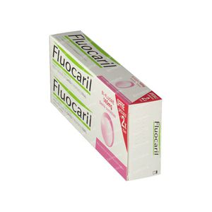 Fluocaril Dentifrice Bi-Fluoré 145 Dents Sensibles Duo 2x75 ml