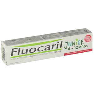 Fluocaril Tandpasta Junior Rood Fruit 75 ml