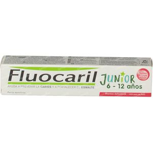 Fluocaril Dentifrice Junior Fruits Rouges 75 ml
