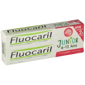 Fluocaril Zahnpasta Junior Beerenfrüchte Duo 2x75 ml
