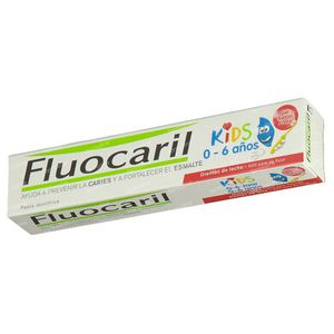 Fluocaril Dentifrice Kids Fraise 50 ml