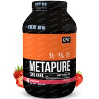 QNT Metapure Zero Carb Aardbei 908 g
