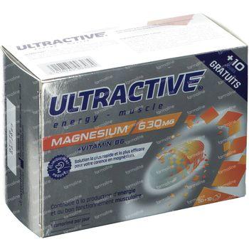 Ultractive Instant Magnesium + Vitamine B6 50+10 tabletten