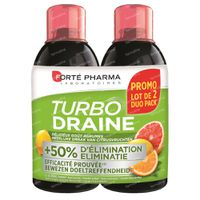 Forté Pharma Turbodraine Citrusvruchten DUO 2x500 ml
