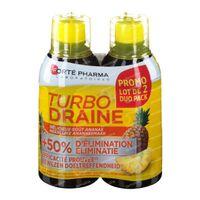 Forté Pharma Turbodraine Ananas Duopack 2x500 ml