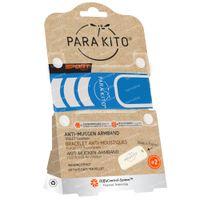 Para'Kito Anti-Mücke Handschlaufe SPORT Blau Wiederaufladbar 1 st