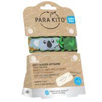Para'Kito Anti-Moustique Bracelet Kids Koala Rechargeable 1 pièce