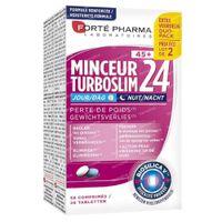Forté Pharma Turboslim 24 45+ Dag & Nacht Duopack 2x28  tabletten
