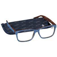 Pharma Glasses Lunettes de Lecture Palerma Jeans +2.50 1 st