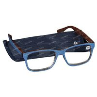 Pharma Glasses Reading Glasses Palerma Jeans +4.00 1 st