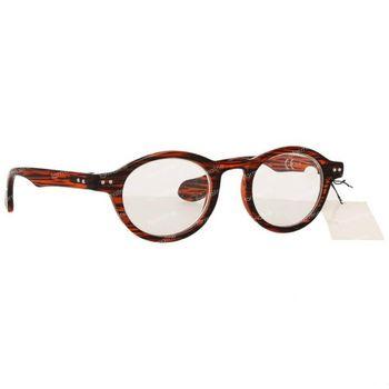 Pharma Glasses Leesbril Milano Rood/Zwart +1.00 1 stuk