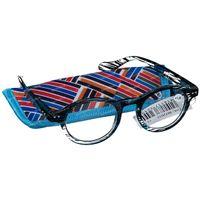 Pharma Glasses Reading Glasses Milano Blue/Black +1.50 1 st