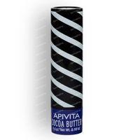 Apivita Lip Care Cocoa Butter SPF20 Nieuwe Formule 4 g tube