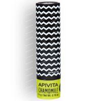 Apivita Lip Care Chamomile SPF15 Nieuwe Formule 4 g tube