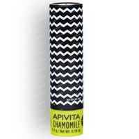 Apivita Lip Care Stick Pour Levres À La Camomille SPF15 Nouvelle Formule 4 g tube