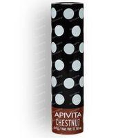 Apivita Lip Care Lipstick With Chestnut 4 g tube