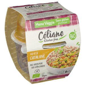 Céliane Menu Veggie Catalonian Rice Bio 220 g