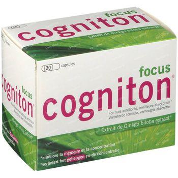 Cogniton Focus Geheugen & Concentratie 120 capsules