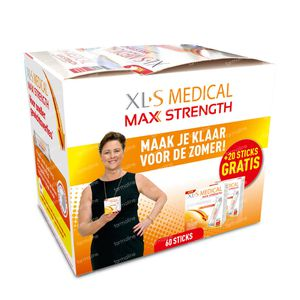 XLS Medical Max Strength + 20 Sticks GRATIS 60+20 stick(s)