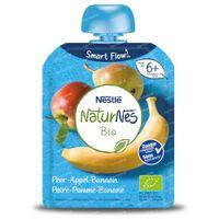 Nestlé NaturNes Bio Peer - Appel - Banaan 6 Maanden 90 g