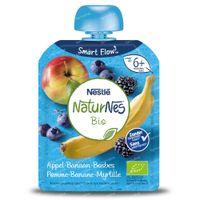 Nestlé NaturNes Bio Appel - Banaan - Bosbes - Braambes 6 Maanden 90 g