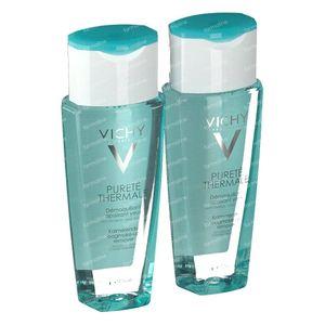 Vichy Pureté Thermale Desmaquillante Calmante Ojos Sensibles 2de At 50% 2x150 ml