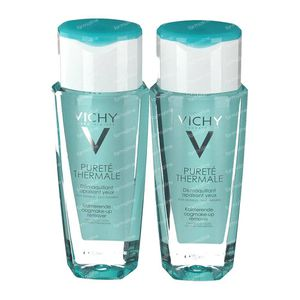 Vichy Pureté Thermale Soothing Eye Makeup Remover 2de At 50% 2x150 ml