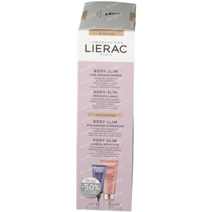 Lierac Body-Slim Intensive Slimming Program - Global Slimming + Express Slimming Treatment at -50% 200+100 ml