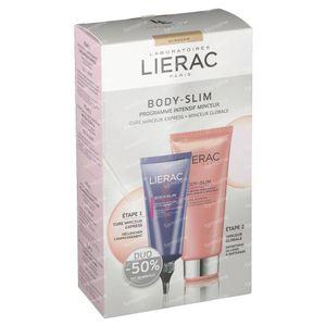 Lierac Body-Slim Intensives Schlankheitsprogramm - Vollständige Abmagerung + Express Schlankheitskur mit -50% 200+100 ml