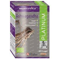 Mannavital Ashwagandha Platinum 60  softgels