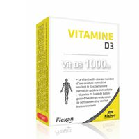 Flexan Vit D3 1000 IU 60  capsules