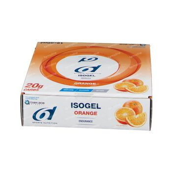 6D Sports Nutrition Isogel Orange 12x60 ml