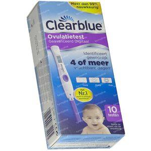 Clearblue Advanced Digitaler Eisprungtest Reduzierter Preis 10 st