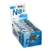 Win2 Energy Bar NA+ Zoute Amandel 35x40 g