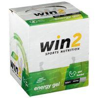 Win2 Energy Gel Appel - Kaneel 18x40 g