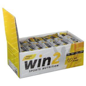 Win2 Energy Bar Banana 35x40 g