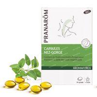 Pranarôm Aromaforce Neus-Keel 30  capsules